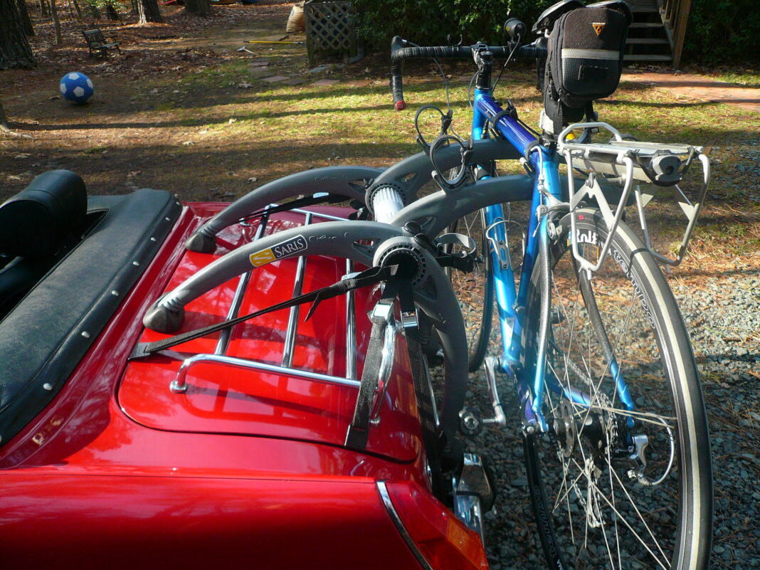 Install Bike Rack on Car Trunk